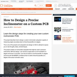 How to Design a Precise Inclinometer on a Custom PCB - Projects