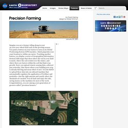 Precision Farming : Feature Articles