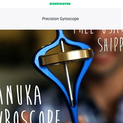 Precision Gyroscope by Manuka Makers