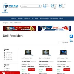 Dell Precision WorkStation Cao Cấp Chính Hãng
