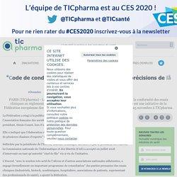 """""""Code de conduite RGPD"""" des essais cliniques: précisions de la Fédération européenne des CRO"""