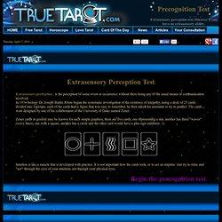 Extrasensory perception test