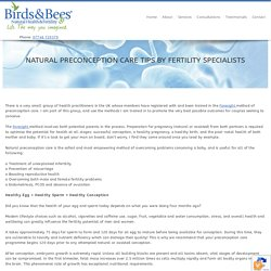 Natural Preconception Care Tips By Fertility Specialists