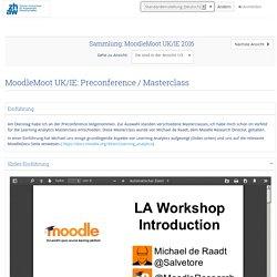MoodleMoot UK/IE: Preconference / Masterclass - Mahara