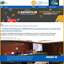 RCI_FM 16/10/18 Colloque Chlordécone : l'ANSES livre ses préconisations en matière de consommation d'aliments
