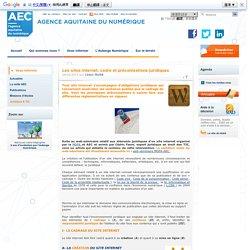 Les sites internet, cadre et préconisations juridiques