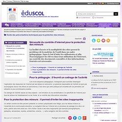 Guide pratique - Nécessité du contrôle d'internet pour la protection des mineurs