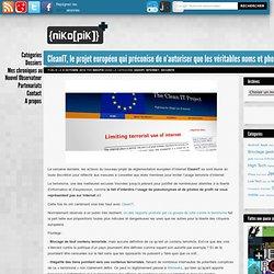 CleanIT, le projet européen qui préconise de n'autoriser que les véritables noms et photos sur Internet