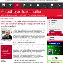 le-rapport-richard-preconise-notamment-de-mieux-identifier-les-offres-de-formation