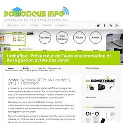IndepBox : Précurseur de l'autoconsommation et de la gestion active des conso