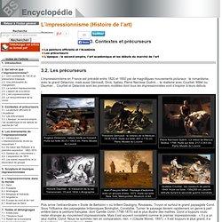 Les précurseurs [L'impressionnisme (Histoire de l'art)->Contextes et précurseurs]