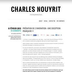 » Prédation de l'innovation : une exception française ? Charles Nouÿrit