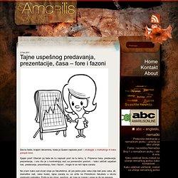 Tajne uspešnog predavanja, prezentacije, časa – fore i fazoni « (m)Amarilis Online