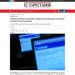 Logran predecir cuándo romperán las parejas con base en datos de Facebook