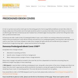 PREDESIGNED EBOOK COVERS -