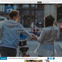 Las 8 predicciones de Booking.com para el turismo en 2019