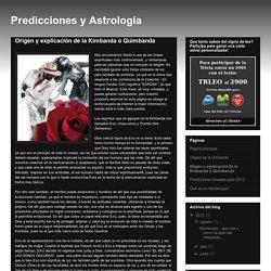 Predicciones y Astrología: Origen y explicación de la Kimbanda o Quimbanda