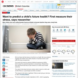 Want to predict a child's future health? First measure their stress, says researcher