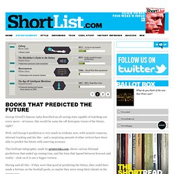 Books That Predicted The Future - Books