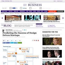 Predicting the Success of Design Driven Startups