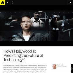 How's Hollywood at Predicting the Future of Technology?