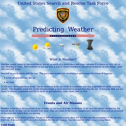 Predicting Weather
