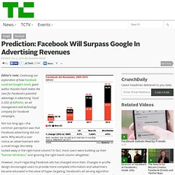 Prediction: Facebook Will Surpass Google In Advertising Revenues