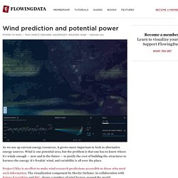 Wind prediction and potential power