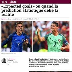 «Expected goals» ou quand la prédiction statistique défie la réalité
