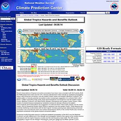 Global Tropical Hazards Assessment