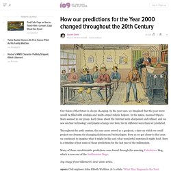 How our predictions for the Year 2000 changed throughout the 20th Century