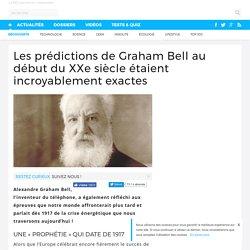 Les prédictions de Graham Bell au début du XXe siècle étaient incroyablement exactes