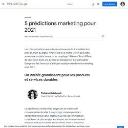 5 prédictions marketing pour 2021