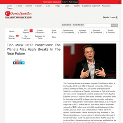 Elon Musk Astrological Predictions – What Planets Indicate for His Future?