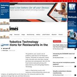 Edge Robotics Technology Predictions for Restaurants in the Future