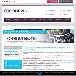Coheris : L'analyse prédictive et la recommandation temps réel.