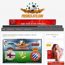 Prediksi Skor Deportivo La Coruna Vs Espanyol 7 Mei 2017