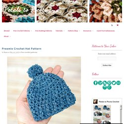 Preemie Crochet Hat Pattern
