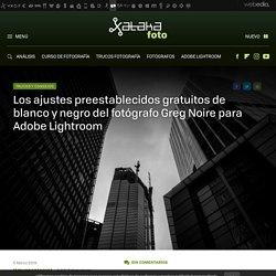 Los ajustes preestablecidos gratuitos de blanco y negro para Adobe Lightroom
