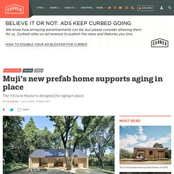 Muji's new prefab home designed for aging in place