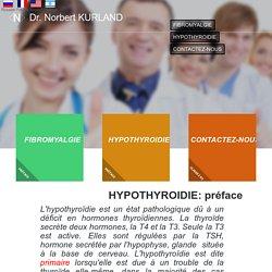 Préface à l`hypothyroïdie