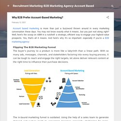Why B2B Prefer Account-Based Marketing?