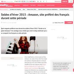 Soldes d'hiver 2015 : Amazon, site préféré des français durant cette période