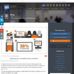 Digital learning : les préférences des entreprises