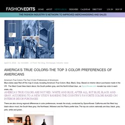 America's True Colors-The Top 3 Best Color Preferences of Americans
