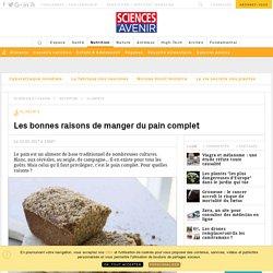 Les bonnes raisons de préférer le pain complet au pain blanc - Sciencesetavenir.fr