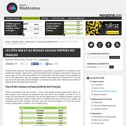 Les sites web et les réseaux sociaux préférés des Français