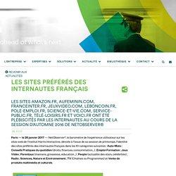 Les sites préférés des internautes Français