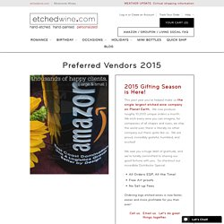 Preferred Vendors 2015 – etchedwine.com