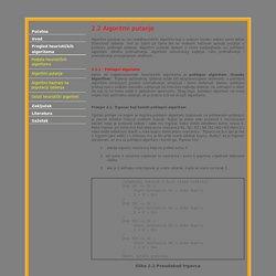 Pregled heurističkih algoritama